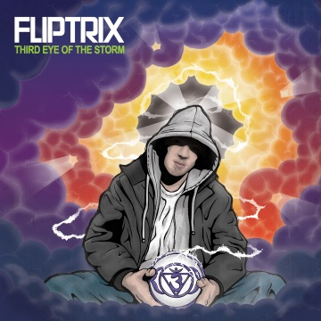 Fliptrix - 'Third Eye Of The Storm' Album Cover